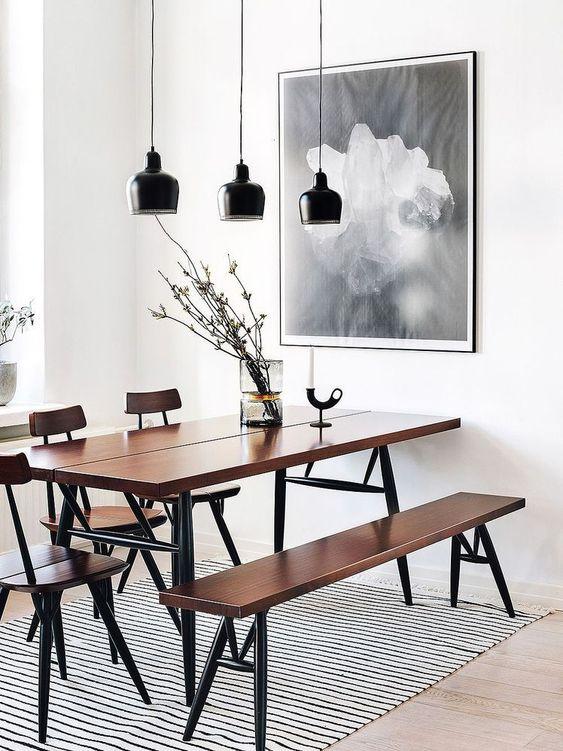 Como elegir la lampara para el comedor ideas de decoraci n - Lamparas de comedor de diseno ...