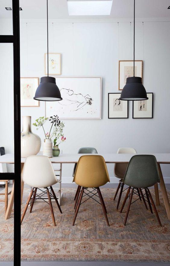 Como elegir la lampara para el comedor ideas de - Lamparas de comedor modernas ...