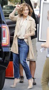 look formal para oficina con jeans