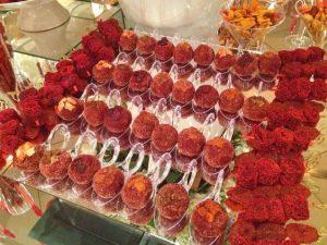 mesa de dulces enchilosa