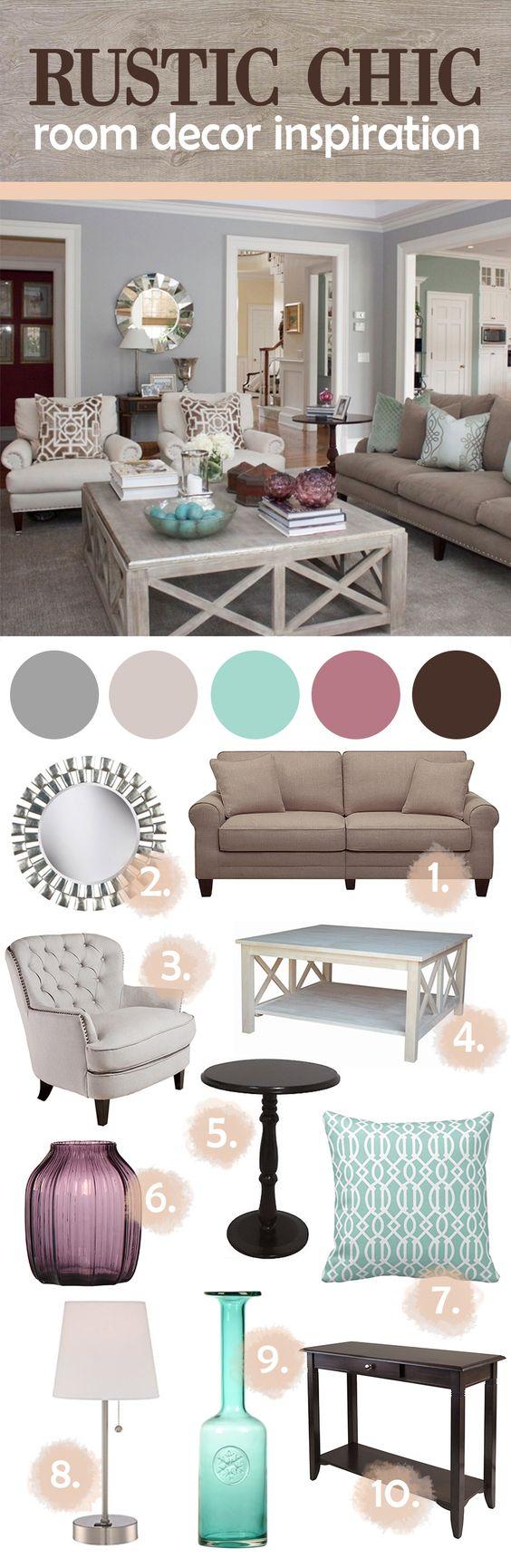 Muebles estilo rustico