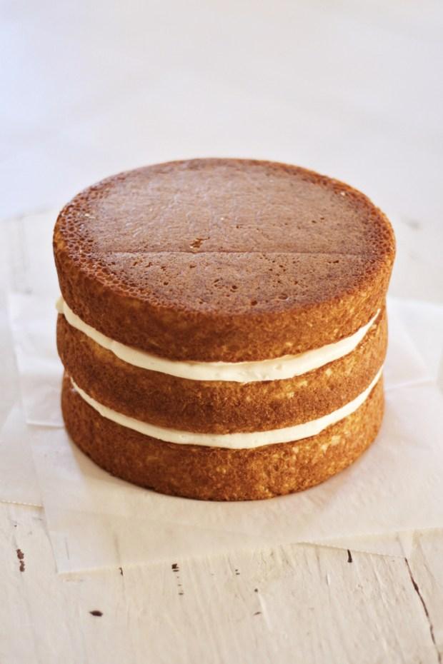 paso a paso para elaborar naked cake 3