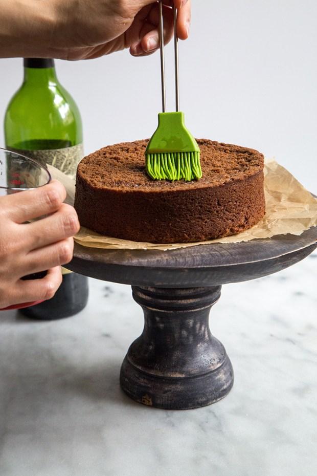 paso a paso para elaborar naked cake 6