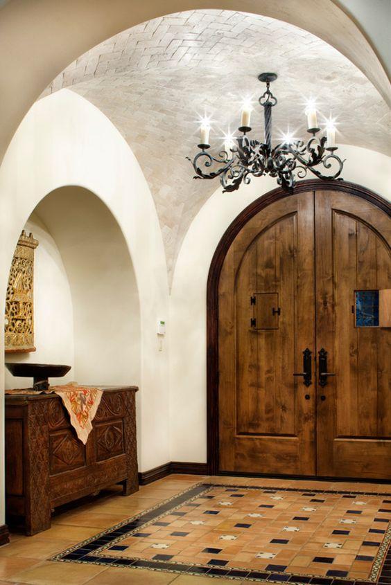 Puertas estilo rustico