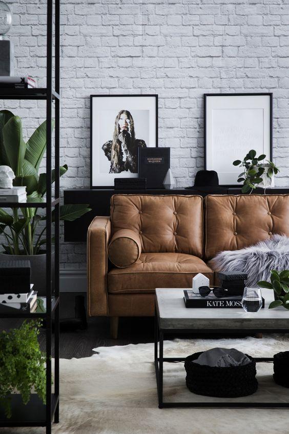Salas estilo industrial