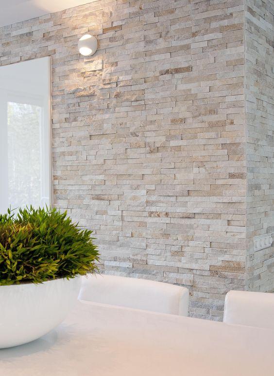 Acabados para paredes exteriores e interiores tendencias 2018 - Decoracion muros exteriores ...