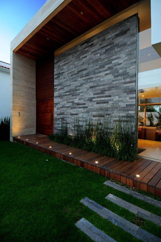 Revestimientos de fachadas tendencias para exteriores - Revestimientos exteriores para casas ...