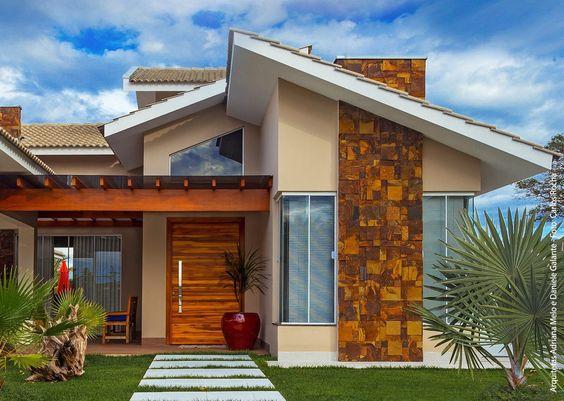 Acabados de exteriores de casas render exterior edificio - Materiales para fachadas exteriores ...