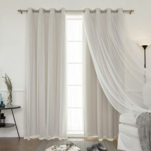 Colores de cortinas modernas
