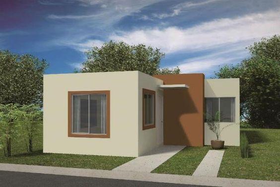 Exterior pequeñas casas pintura de