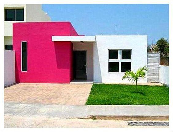 Colores para pintar fachadas de casas tendencias 2019 - Como pintar casas ...