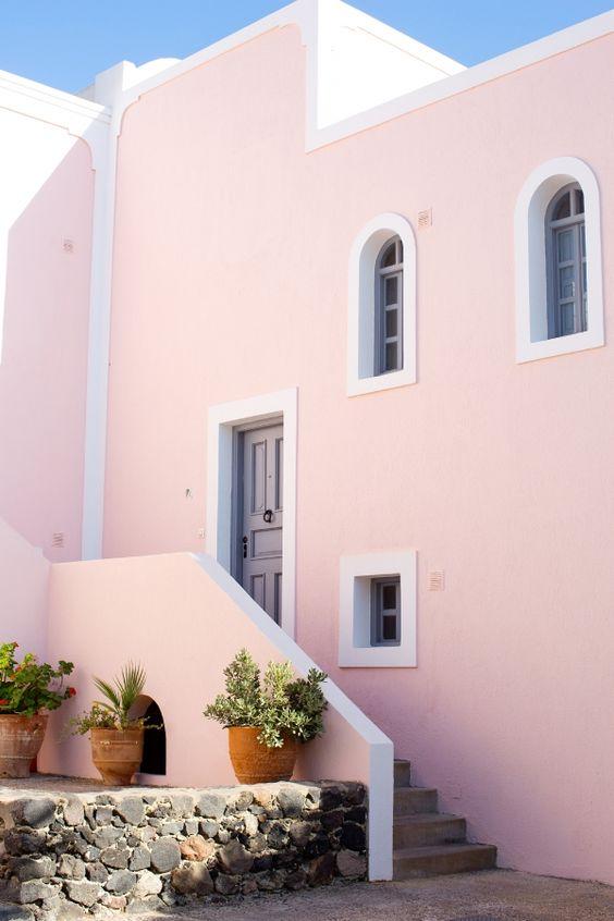 Colores para pintar fachadas de casas tendencias 2018 - Colores pintar casa ...