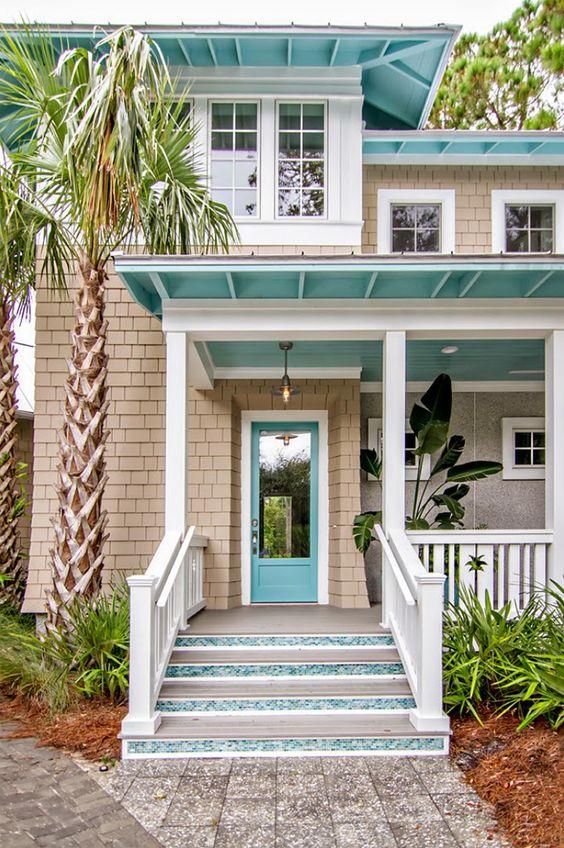 hermosas ideas de pintura de la casa Colores Para Pintar Fachadas De Casas Tendencias 2019