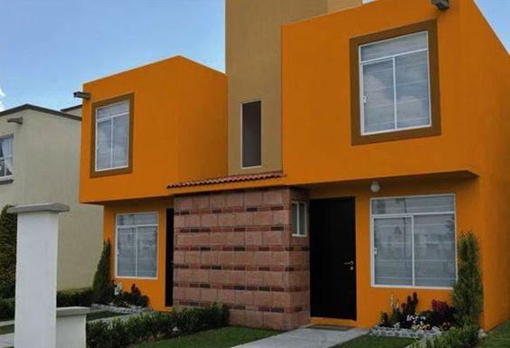 Colores para pintar fachadas de casas tendencias 2019 - Fachadas de casas pintadas ...