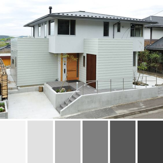 Combinaciones De Colores Para Exteriores De Casas 1 Decoracion De Interiores Fachadas Para