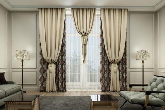 Cortinas modernas dise os de cortinas para la casa 2019 for Cuales son los adornos navidenos