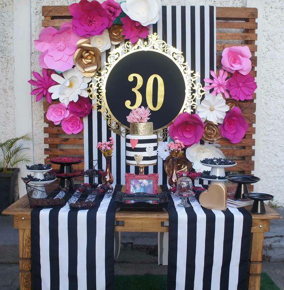 Cumplea os 30 para mujer1 decoracion de interiores for Decoracion 30 cumpleanos