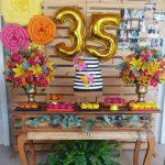 Cumpleaños 35 de mujer