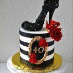 Decoracion para cumpleaños de mujer de 40 años