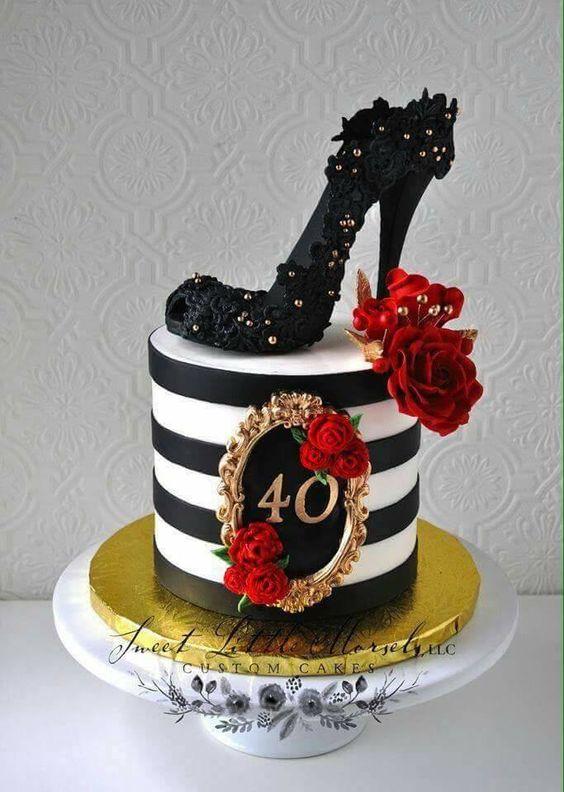 Decoracion para cumpleaños de mujer de 40 años |