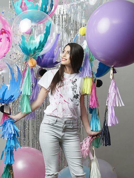 Decoracion para cumpleaños de mujer joven
