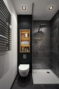 Diseños de walk-in shower para baños pequeños5