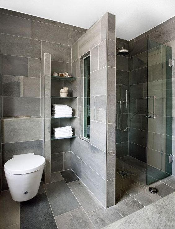 Walk-in shower designs for small bathrooms