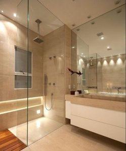 Diseños para baños pequeños con cristal4