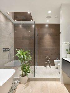 Diseños para baños pequeños con cristal6