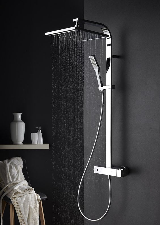 Shower styles for walk-in sohwers