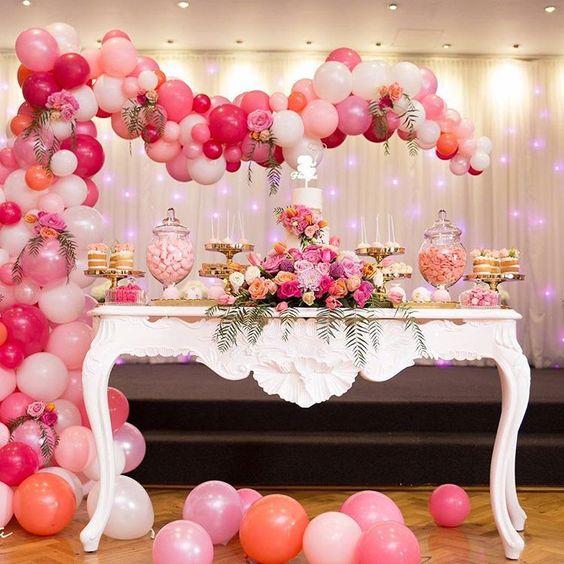 decoracion de cumpleaños para mujer   eventos 2018