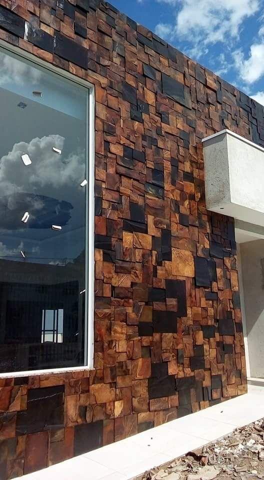 Revestimientos de fachadas tendencias para exteriores - Tipos de revestimientos exteriores ...