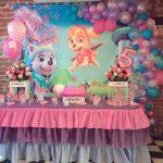 Mesas principales para fiesta de paw patrol para niña2
