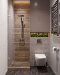 Porque estan de moda los diseños de walk-in shower para baños pequeños