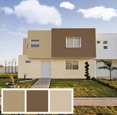 Colores para pintar fachadas de casas tendencias 2019 - Fotos de la casa blanca por fuera ...