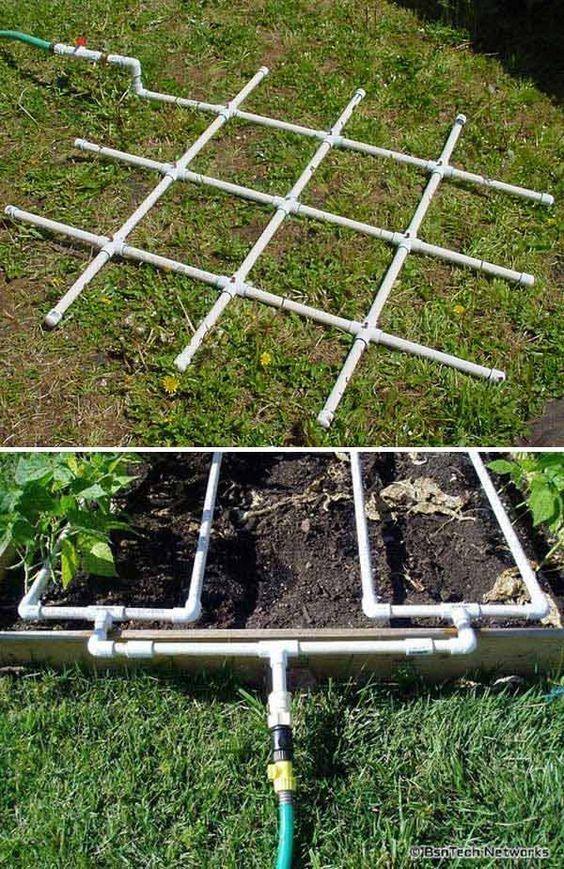 Riego por goteo casero c mo instalarlo en el jard n - Aspersores de riego para jardin ...