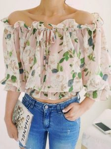 Blusas con diseños