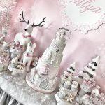como decorar mesas de postres navideñas