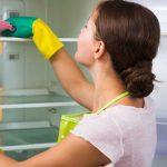 como limpiar los vidrios del refrigerador