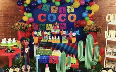 Fiesta tematica de Coco Disney