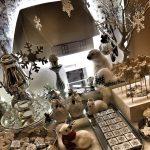 decoracion mesa de dulces navideñas