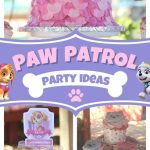 decoracion para fiesta de paw patrol niñas