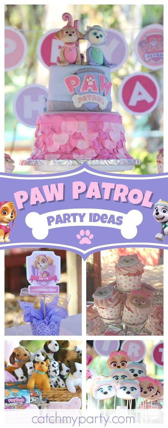 Fiesta De Paw Patrol Para Nina Ideas Para Fiestas Infantiles