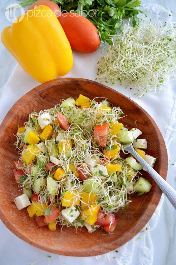 Comida liviana las mejores opciones de ensaladas - Que cenar para perder peso rapido ...