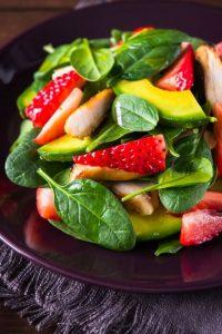 ensaladas verdes