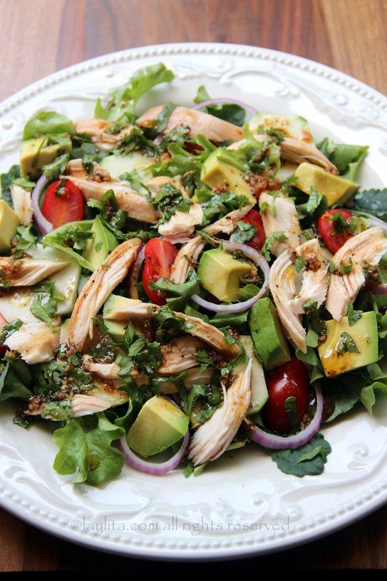 Comida liviana las mejores opciones de ensaladas for El vinagre desinfecta