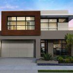 fachadas con cemento a la vista