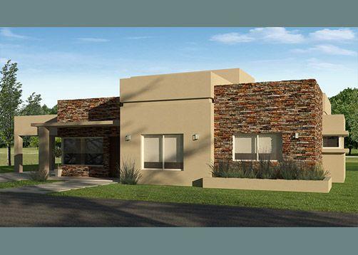 Fotos de fachadas de casas sencillas y bonitas for Fachadas de casas modernas con piedra