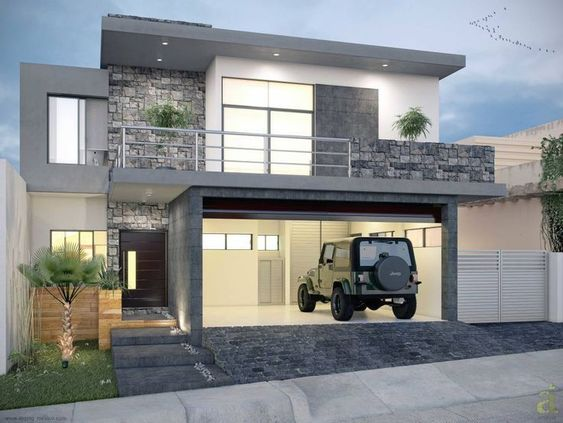 Fotos de fachadas de casas sencillas y bonitas for Fotos de fachadas de casas bonitas