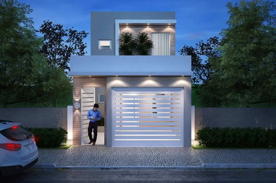 Fachadas de casas sencillas de infonavit decoracion de for Fachadas de casas interiores